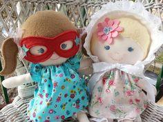 custom handmade rag dolls  www.facebook.com/dandelionwishesbymimi  www.dandelionwishesmimi.etsy.com