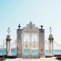 Dolmabahce Palace, Istanbul, Turkey | by sforzinda - Travel This World-Trentworth beach access?
