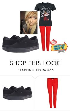 """#Vans1"" by infinityfreak13 ❤ liked on Polyvore featuring Vans and J Brand"
