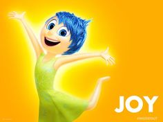 I got: JOY! What Inside Out Emotion Controls You?