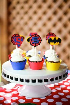 Superheroes!!! Birthday Party Ideas   Photo 2 of 14   Catch My Party