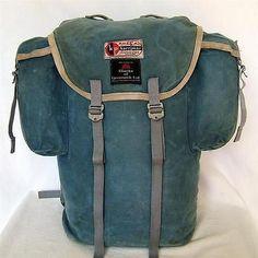Outdoor Backpacks, Blue Canvas, Rucksack Backpack, Retro, Online Price, 1970s, Hiking, The Originals, Best Deals
