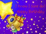 Twinkle, twinkle, birthday cake! Forget the years, for goodness sake! And think of all the people who… Have brighter lives because of you! I know I sure do! Happy Birthday