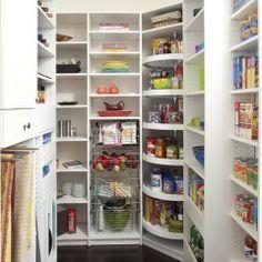 Kitchen walk in pantry | Ikea Walk In Pantry Design Ideas,