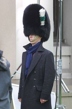 Benedict Cumberbatch in a fluffy hat. WARNING:you may laugh uncontrollably when viewing! Lol! Rofl!