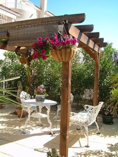 A patio pergola will add a special element to your home, while also adding more value to the house. Pergola in your yard will bring an air of tranquility to the Wooden Pergola, Outdoor Pergola, Pergola Kits, Deck Gazebo, Pergola Screens, Rustic Pergola, Curved Pergola, Pergola Curtains, Cheap Pergola