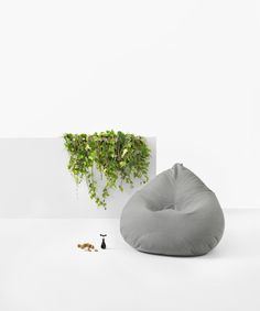 Kyoto Outdoor Bean Bag - stylish, comfortable and durable #putlifeonpause #lujo #outdoorfurniture