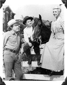 My Friend Flicka -- another Saturday morning favorite growing up. The McLaughlin family was one of my favorites.