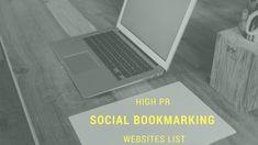 high pr seo social bookmarking website list