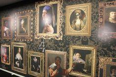 Katarina Stupavska print design - Selfies Apartments, Selfies, Amsterdam, Print Design, Wall Decor, King, Decoration, Digital, Wallpaper