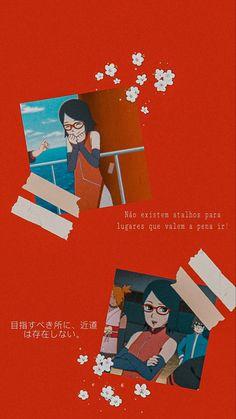 Wallpaper Sarada Uchiha