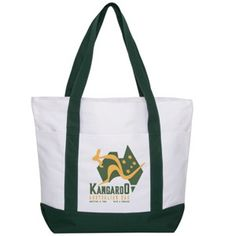 Large Zippered Promo Tote Bag - As low as  4.27 each with imprint! e29986896d1e8
