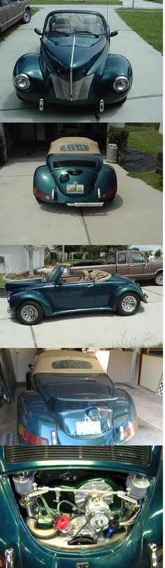 2 seater vw bug modified
