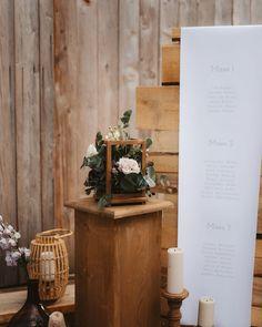 Știm că una din cele mai mari provocări în ultimele zile de pregătiri este modul în care așezăm invitații la masă. Cei dragi se vor bucura să fie prezenți indiferent de locul unde vor sta. Iar noi ne vom ocupa cu drag de un display potrivit întregului concept.   📷 @landofwhitedeer   design & styling @iuliaiacob   flowers & props @mugurdezof   venue @thebarnathadarchalet Table Decorations, Display, Furniture, Home Decor, Design, Floor Space, Decoration Home, Billboard, Room Decor