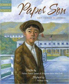 Paper Son is one of those historical picture books for older readers that presents an aspect of history in fictional form.  In this case how Chinese immigrated to America after the Chinese Exclusion Act was passed in 1882 closing our borders to them. Review by Randomly Reading.