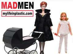 """How Badly Do You Want These """"Mad Men"""" Barbies?"""