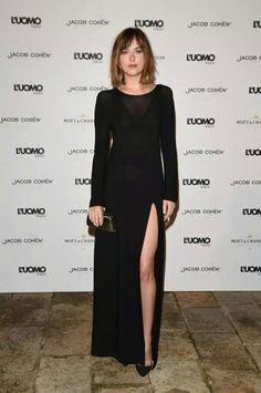 Dakota at Vogue event in Venice