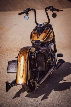 And again we are working on a Heritage model as Chicano conversion! Harley Davidson, Cholo Style, Old School Chopper, Harley Softail, Harley Bikes, Big Rig Trucks, Custom Harleys, Train Car, Club Style