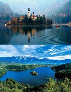 Slovinsko, Bohinjské jazero