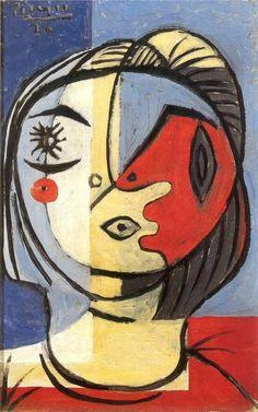 Pablo Picasso - Head 2, 1926 #Picasso