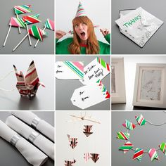 Resolution: put away Christmas in an eco-friendly way. 9 New Ways to Repurpose Wrapping Paper Ways To Recycle, Reuse, Upcycle, Cute Crafts, Diy Crafts, Geek Crafts, Paper Picture Frames, Tool Box Diy, Origami Bird