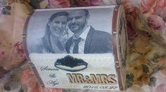 Esküvői ládika #wedding #decoupage  #souvenir