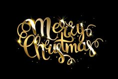 by Aromeo on Merry Christmas! by Aromeo on Merry Christmas! by Aromeo on Merry Christmas! by Aromeo on Merry Christmas Banner Printable, Best Merry Christmas Wishes, Merry Christmas Typography, Merry Christmas Vector, Merry Christmas Quotes, Christmas Phrases, Lettering, Gold, Rap Music