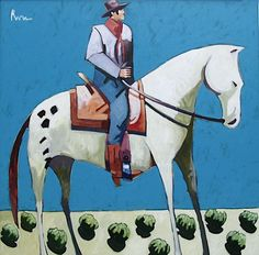 Billy Riding along the Bonita-Thom Ross