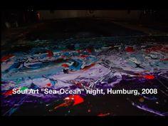 "Soul Art ""Sea Ocean"" night, Humburg, 2008 Ocean Night, Soul Art, Sea And Ocean, Art Gallery, Waves, Feelings, Movie Posters, Life, Art Museum"