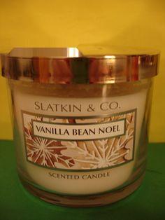 Bath & Body Works Vanilla Bean Noel Candle 40 hour