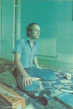 great foto of Brian Eno