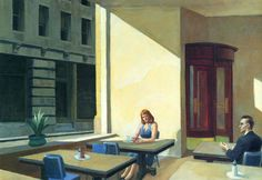 Are you responsible?Sunlights in cafeteria, Edward Hopper / Are You That Somebody, Aaliyah Edward Hopper, Hip Hop Lyrics, Rap Lyrics, Art History Major, Oral History, American Realism, American Life, Figure Painting, Painting & Drawing