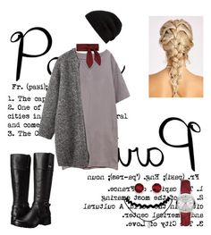 """""""Fall in Paris"""" by nerdyinpink on Polyvore featuring Toast, Bandolino, Chloé, Rick Owens, Burberry and Kevin Jewelers"""