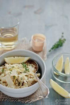 Lemon Thyme & Fennel Risotto