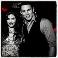 If you're headed to New Orleans this weekend, make sure you drop by the highly-anticipated grand opening for Channing Tatum and Jenna Dewan-Tatum's new creole/cajun restaurant and bar Saints & . Let Me Know, Let It Be, Saints And Sinners, Hollywood Couples, Jenna Dewan, Channing Tatum, Photo A Day, What You Think, List