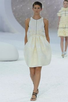 wow... so nice of chanel to design a dress perfect for me!   Chanel S/S 2012