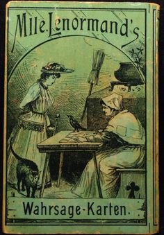C1880 Soothsayer Mlle Lenormand Fortune Telling Playing Cards Cartomancy | eBay