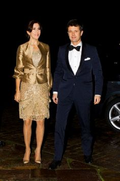 Nov 6 - Danish Crown Prince Frederik and Crown Princess Mary attend a concert and dinner for entrepreneurs in Denmark at Fredensborg Palace