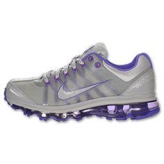Womens gray and purple