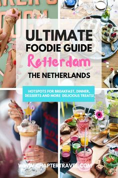 This is the ultimate foodie guide for Rotterdam, the Netherlands! Did you know that Rotterdam . Europe Destinations, Europe Travel Tips, European Travel, Budget Travel, Travel Guides, Backpacking Europe, Best Places To Eat, International Recipes, Food Blogs