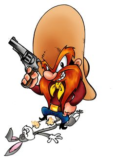 Yosemite Sam by Dreekzilla on DeviantArt