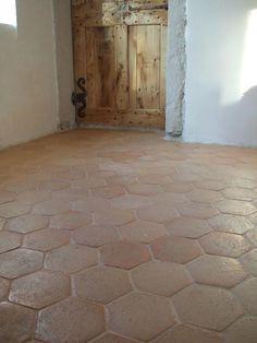 carrelage sol terre cuite 20 x 20 cm hexagonale vendu au carton carrelage tiles. Black Bedroom Furniture Sets. Home Design Ideas