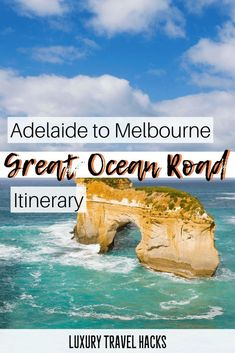 Adelaide to Melbourne Road Trip - Great Ocean Road Itinerary. This sounds like a fun Australian road trip. Travel Destinations, Travel Tips, Travel Hacks, Travel Packing, Australia Destinations, Europe Packing, Traveling Europe, Backpacking Europe, Travel Articles