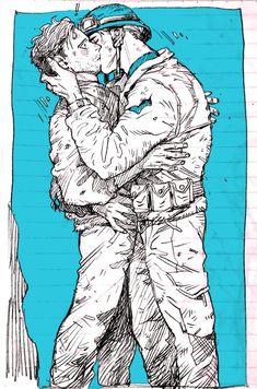 #BuckyBarnes #WinterSoldier #SteveRogers #CaptainAmerica #Stucky