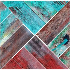 Discovered in New Mexico Faux Wood   Removable Wall Decals   Walls Need Love