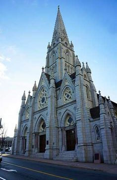 Photo tour of Halifax, Nova Scotia -- St. Mary's Basilica