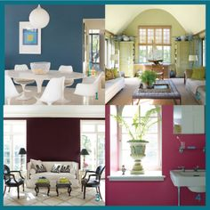 5 Super Quick Ways to Bring Spring Into Your Home - Tip 3 - Bold Paint Colours - Click on the link to read all about the 5 super quick (and inexpensive) ways that you can bring spring into your home!