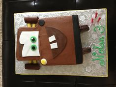 Tow Mater Cake - Might be able to do this.