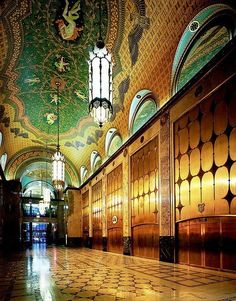 the Fisher Building in Detroit