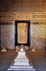 marrakech, tumbas saadies